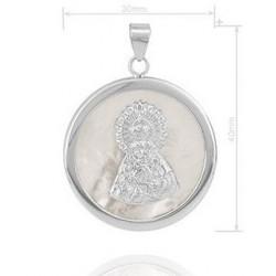 medalla de la Virgen de la Macarena