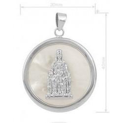 medalla Virgen de Monserrat