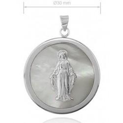 medalla Virgen Milagrosa circular