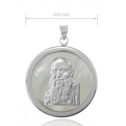 Medalla de Fray Leopoldo de plata