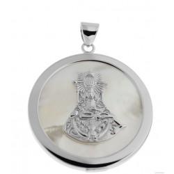 medalla de la virgen de las angustias