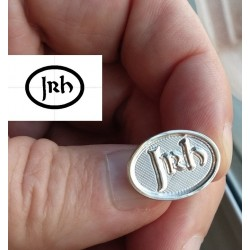 pin personalizado de plata