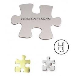 Pin de plata puzzle