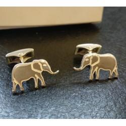 gemelos elefantes plata de ley