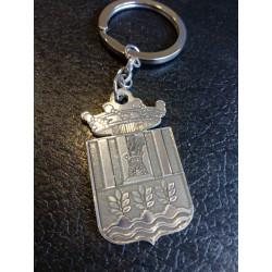Llaveros escudos ciudad plata