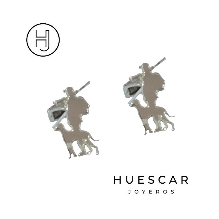 gemelos de cazadores de plata
