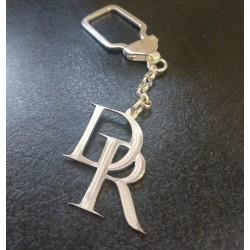 Llavero letras de plata personalizados