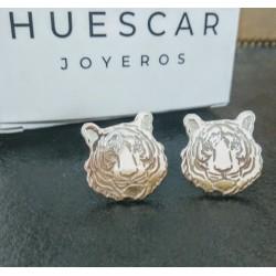 gemelos tigres plata de ley